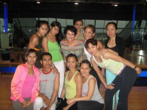 Pilates Group Photo In Jakarta